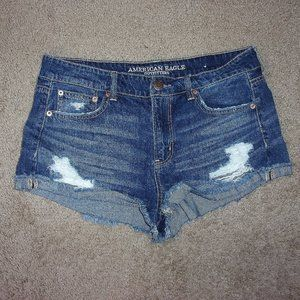 American Eagle Jean Shorts Tomgirl Shortie